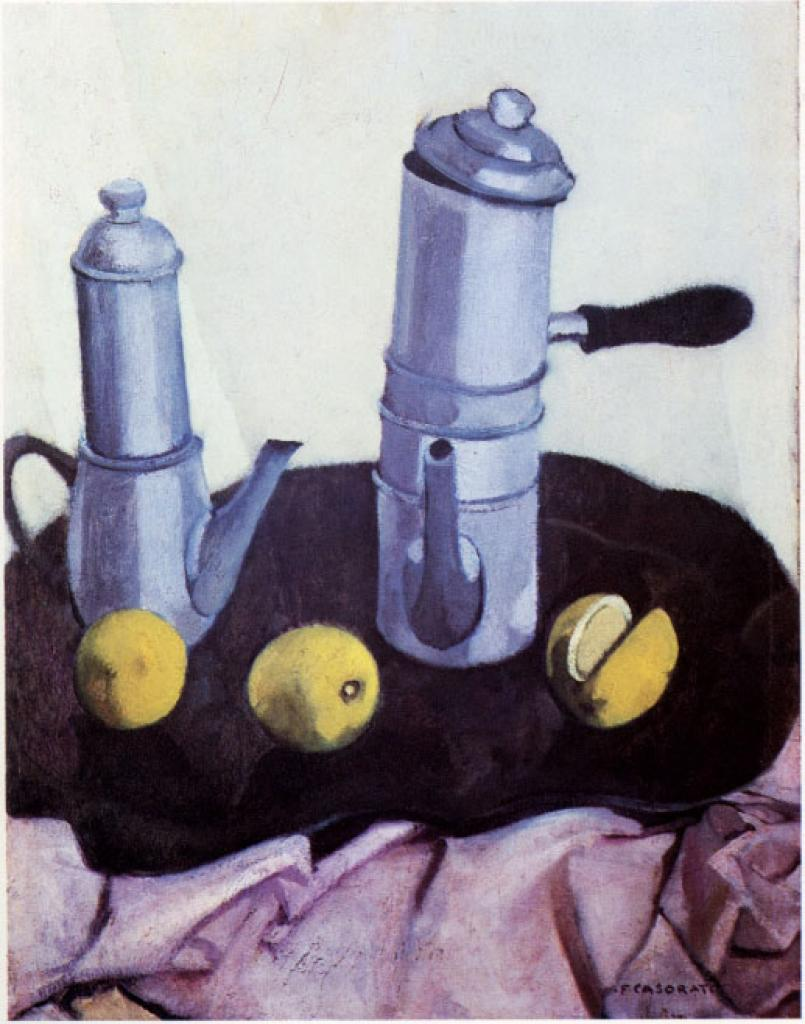 Natura morta con caffettiera 1938