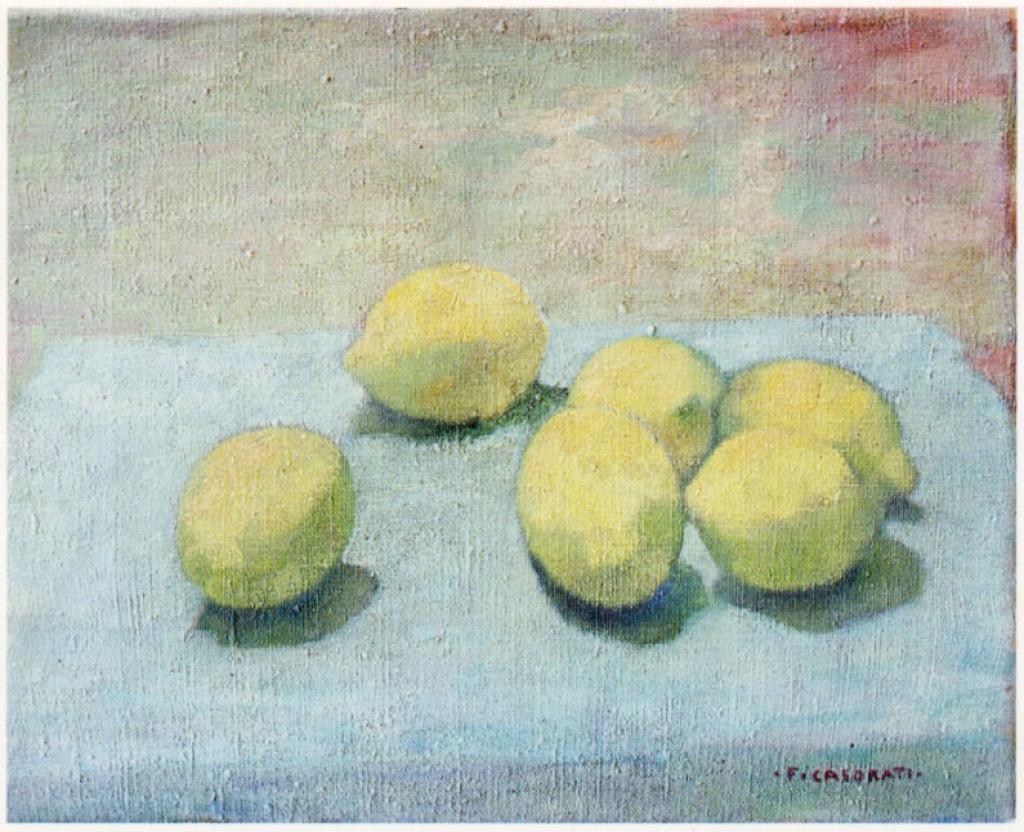 Natura morta con limoni 1940